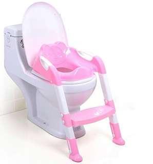 BN Children Toilet Seat with Ladder