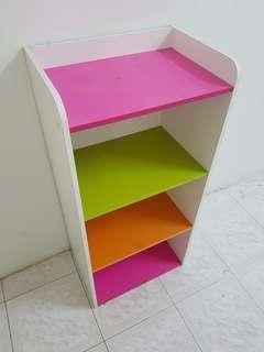 Simple 3 tier cabinet, shelve, bookcase