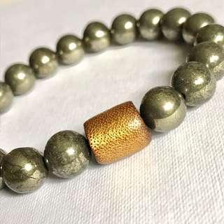 Pyrite & Golden Coral