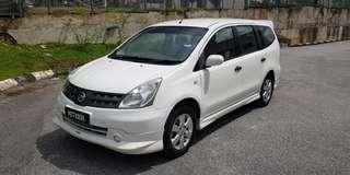 Nissan Grand Livina ST-L 1.6 Automatic 2009