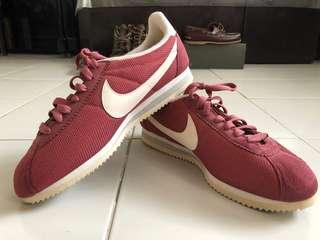 Authentic Nike Cortez Shoe (Red)