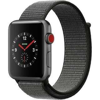 Kredit Apple iWacth SERIES 3 42mm GPS + Cellular Black Loop
