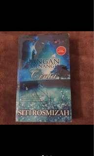 Novel Jangan Menangis Cinta (Siti Rosmizah)