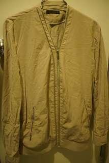 SF EXPRESS ONLY【WOOYOUNGMI】Beige Bomber Jacket