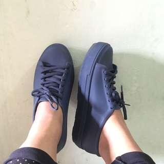 Jelly Shoes Size 39 NAVY