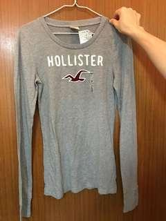 (全新未拆牌) Hollister grey sweater☃️☃️