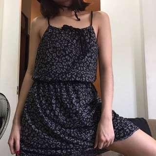 tiger print dress