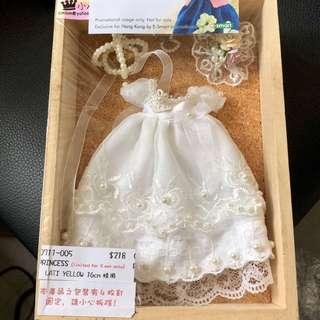 Lati Latidoll yellow BJD 婚紗Outfit 一套