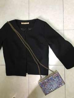 Black Working Coat