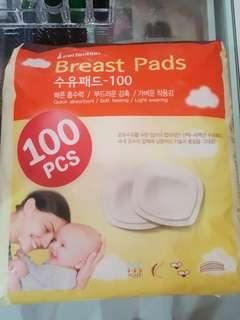 New and unused Breastpads