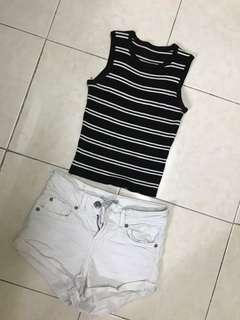 Stretchable Crop Top
