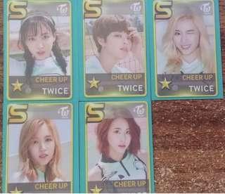 Twice SSJYP Nation 5 pc set
