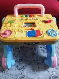 Baby 1st Activity Table & Walker