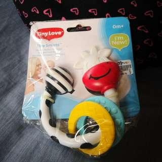 NEW Tiny Love Teether Rattle