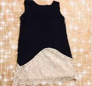 Dress / or Top ! Nice material! Comfortable! 原價$380 搬屋平售$55‼️可當裙/也可當上衣穿!