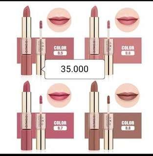 Lipstik + lipcream O.T.WO.o