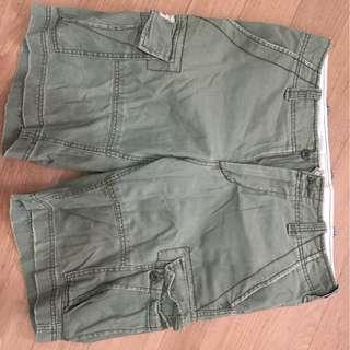 "Ralph Lauren Denim & Supply men's olive cargo short 32""waist"