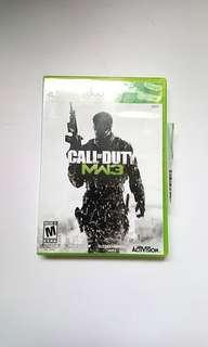 Xbox 360 Call of Duty mw3