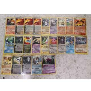 Pokemon Rare Card Mix Set