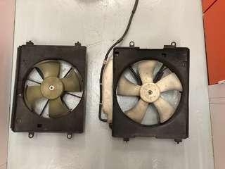 Honda Edix 水箱風扇