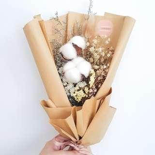 Dried Flowers Bouquet | Rustic Bouquet | Birthday Gift