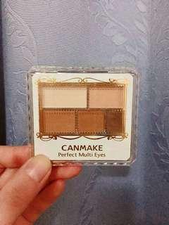 CANMAKE大地色眼影