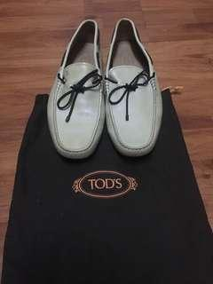 TODS loafer leather