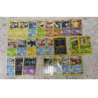 Pokemon Rare Card Set