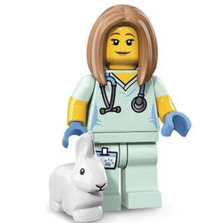 全新 LEGO 71018 Veterinarian 人仔 S17-05