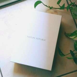 🚚 韓國正品 NatureRepublic 幹細胞新生精華套裝 禮盒