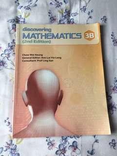 Secondary Three Discovering Mathematics 3B Emath textbook
