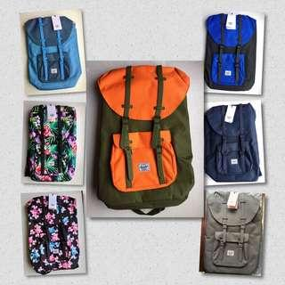 Herschel 25L 🔥 BUY 1 TAKE 1 Promo for only 3,000php ‼️😍 Until Dec 20 2018 Only ‼️