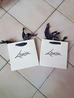 Lovisa Paper bags