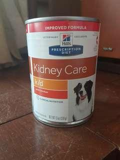Hills k/d Kidney care wet dog food with chicken