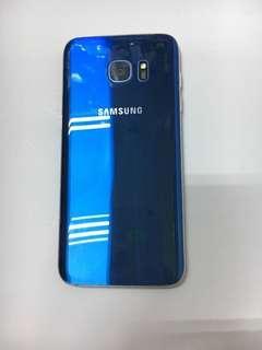 Samsung S7 Edge blue