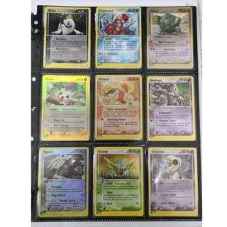 Pokemon Old Card E-Series Set Sell