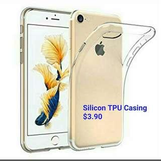 🚚 Silicon Transparent Handphone Case