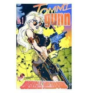 2x TOMMI GUNN LOT (LONDON NIGHT COMICS)