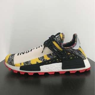 bdcc177f2 adidas NMD Hu Pharrell Solar Pack Black   Red   Yellow