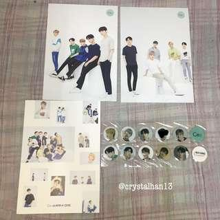 [YES Sale] wanna one ce& official pc and sticker set