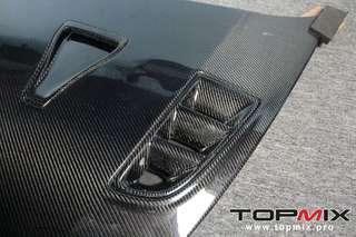 Topmix aka seibon civic FD Carbon bonnet. Mugen RR and RR advance order for jan/Feb 2019