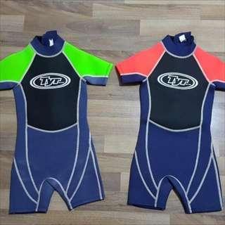 兒童游泳保暖衣 TYR