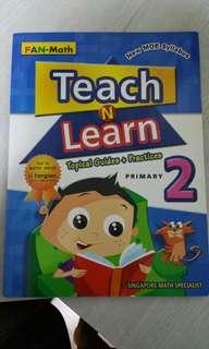 Fan math teach and learn primary 2