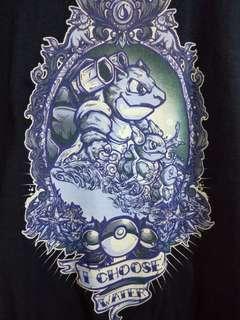 Pokemon water starter tshirt
