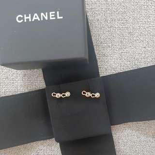 Authentic Brand New Chanel Coco Stud Earring