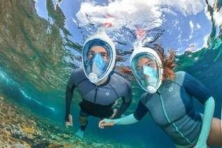 🚚 Surface Snorkelling Full Face 180° Mask