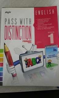 Shinglee pass with distinction english book 1