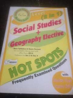 Combined Humanities : Social Studies + Geography Elective - frequently examined questions with Practise These Answer Skills