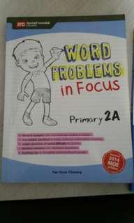 MC word problems in focus primary 2A