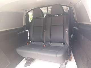 Benz Vito 全新中排座椅(1+2) 梗背(不可摺)